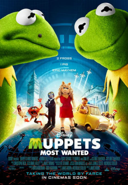 "Pre-Order ""Muppets Most Wanted"" Blu-ray available August ..."