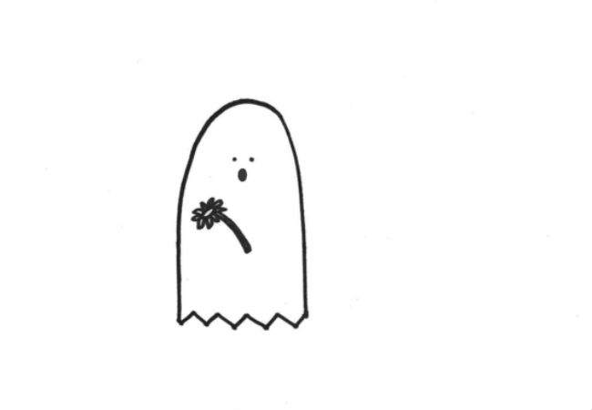 The Ghost of Pushing Daisies (drawings (c) Alanna Okun and Jessica Probus Buzzfeed staff via Buzzfeed)