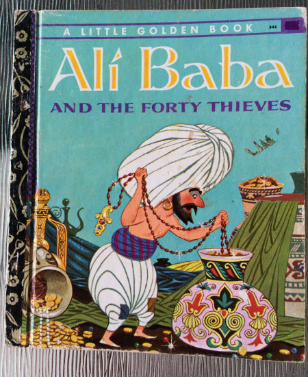 I love fantasy and escape and grand adventure, something that the tale of Ali Baba has in great measure