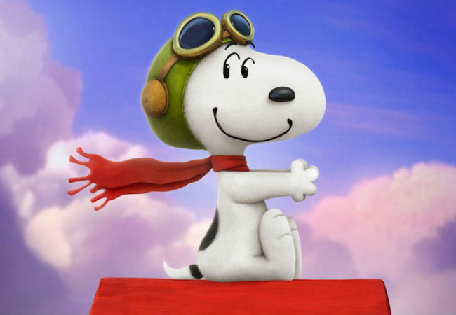 Part of The Peanuts Movie will focus on Snoppy's daring quest to once again take on his arch-nemesis The Red Baron (image via USA Today