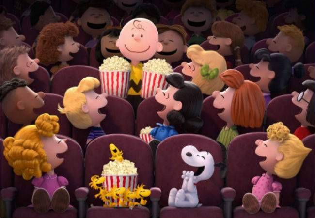 Looks like everyone from Schroeder to Marcie, Woodstock to Sally are as overjoyed as I am to have more big screen Peanuts whimsy coming our way (image via (image via USA Today (c) 20th Century Fox & Peanuts Worldwide)